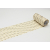 Masking Tape MT Casa 10 cm Pois or / dot gold