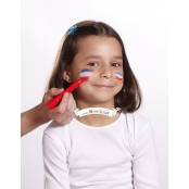 Crayons de maquillage enfant 6 sticks Couleurs sport