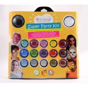 Coffret maquillage pour enfant Super Party Kit 17 couleurs