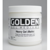 Gel de structure épais Mat (Heavy Gel) 236 ml