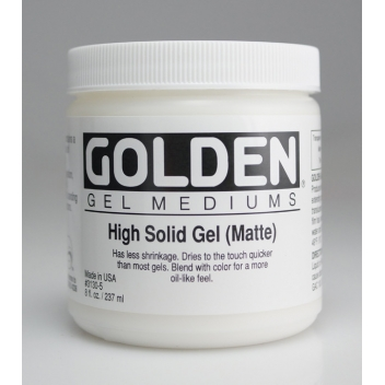 2-03130 - 0738797914322 - Golden - Gel haute consistance Mat (High Solid Gel) 236 ml