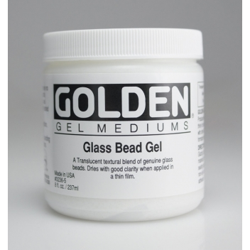 2-03236 - 0738797914742 - Golden - Gel perles de verre (Glass Bead Gel) 236 ml