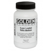 Médium matifiant (Super Loaded Matte Medium) 236 ml