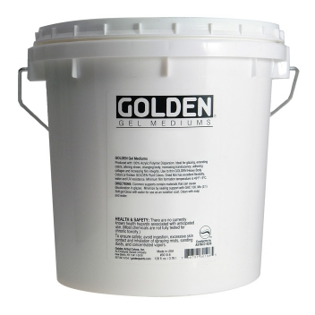 L-03060 - 0738797914070 - Golden - Gel de structure épais Mat (Heavy Gel) 3,78L