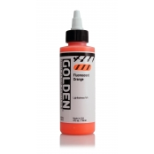 Encre Acrylic High Flow Golden V 119ml Orange Fluorescent