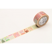 Masking Tape MT Noel 2 cm journal de Noël - christmas news