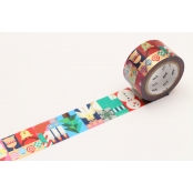 Masking Tape MT Noel nordique - geometric christmas