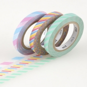 Masking Tape MT Slim 6 mm Set de 3 - twist cord A