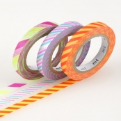 Masking Tape MT Slim 6 mm Set de 3 - twist cord B
