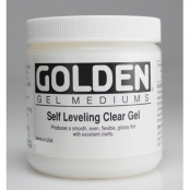 Gel à effet laque (Self Leveling Clear Gel) 473 ml