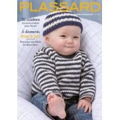 Catalogue tricot Plassard n°131 : Layette intemporel 0-2 ans
