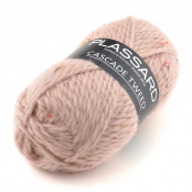 Pelote de laine Cascade Tweed 30 Rose Pale Tweed