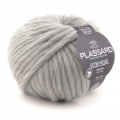 Grosse laine mèche Extra Wool 154 Gris 100% Laine