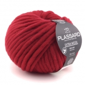 Grosse laine mèche Extra Wool 356 Rouge 100% Laine