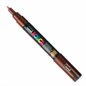 Marqueur Posca Marron PC1MC Pointe conique extra-fine