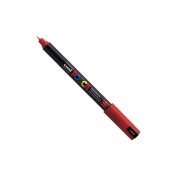 Marqueur Posca Rouge PC1MR Pointe calibrée extra-fine