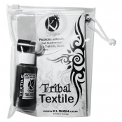 Petit kit tribal de customisation textile (pochoir encre)