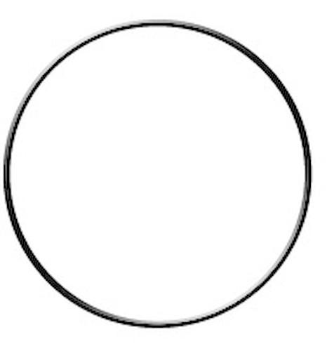 Ens MegaCrea armature abat-jour cercle Ø20 cm