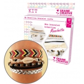kit manchette bling bling 110x130
