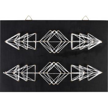 Tableau de fil tendu String Art Flèches 30x20cm Graine créative Déco
