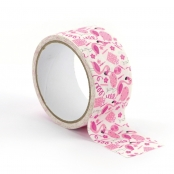 Ruban adhésif large Queen Tape 4,8 cm Flamant Rose