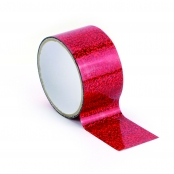 Ruban adhésif large Queen Tape 4,8cm Holographic Rouge