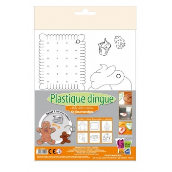 540205 - 3532435402052 - Plastique dingue - Kit Plastique Dingue 6 Porte-clés Gourmandises - France - 2