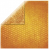 Papier scrapbooking Vintage orange 30,5cm