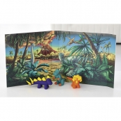 Kit Pâte Fimo Kids Dinosaure 8034.07 ly