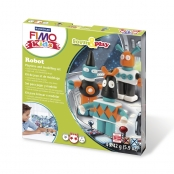 Kit Pâte Fimo Kids Robot 8034.03 ly