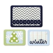 Matrice découpe & embossage (Die) Thinlits Sizzix Winter