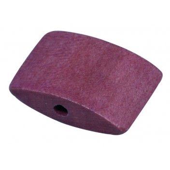 12088316 - 4006166200595 - Rayher - Perle bois Bayong Prune Coussin 1,8 x 2,3 cm