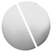 blanc /ø divisible en 2 Rayher 3306000 boule de polystyr/ène /à d/écorer 20 cm