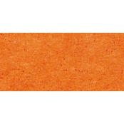 Papier vitrail transparent Orange 3 feuilles