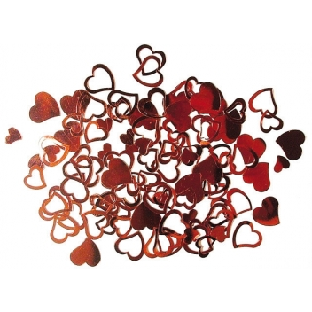 3950218 - 4006166315534 - Rayher - Sequins Coeur Rouge 7 & 12 mm 12 g