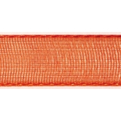 Ruban organdi Orange 15 mm 10 m