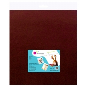 Feutrine 1 mm Polyester 45 x 50 cm Marron