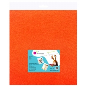 Feutrine 1 mm Polyester 45 x 50 cm Orange