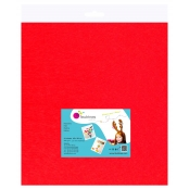 Feutrine 1 mm Polyester 45 x 50 cm Rouge