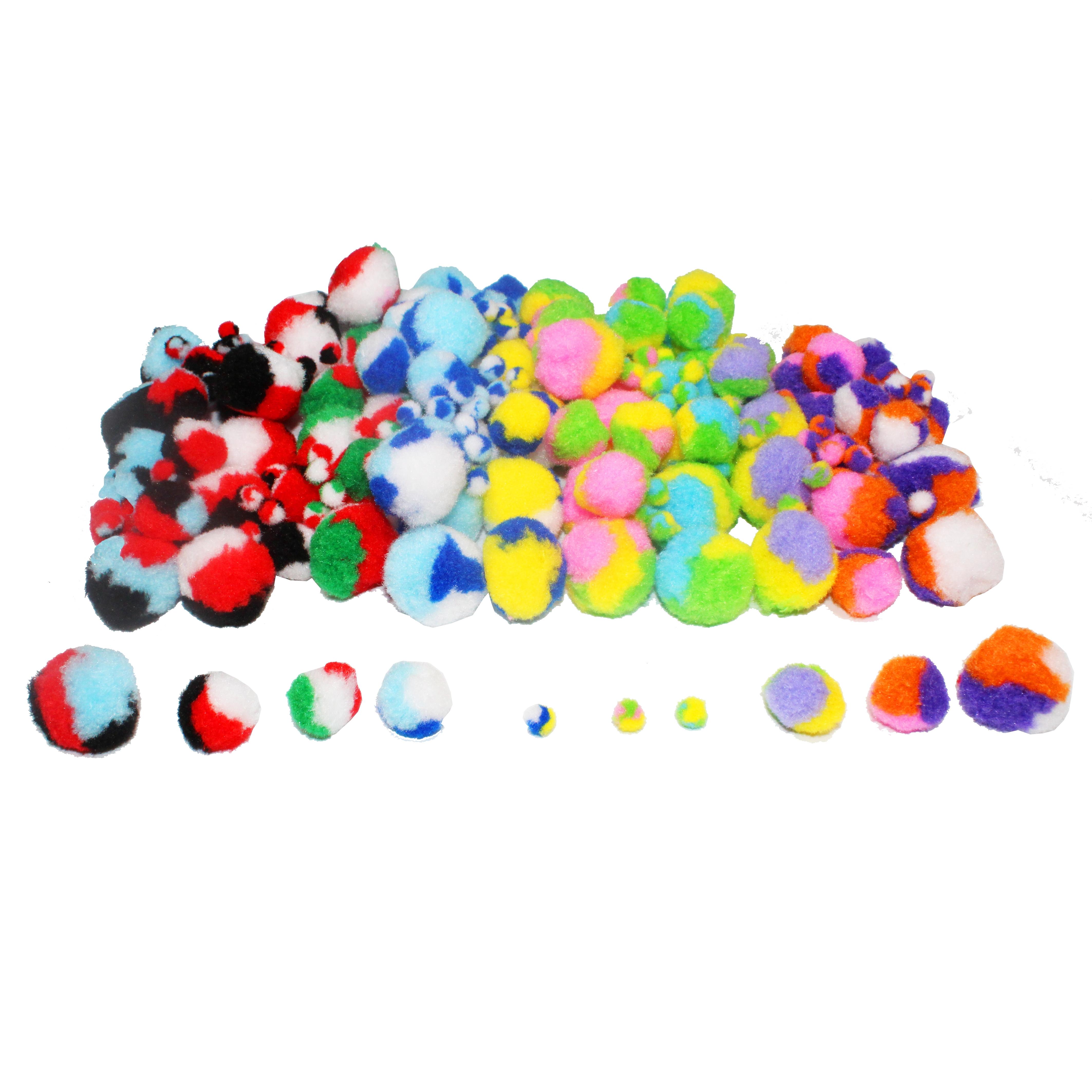 85-88 mm 4 X Extra Large Pompons différentes couleurs de votre choix