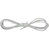 Cordon cuir Ø 1 mm Gris 1 m