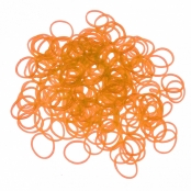 200 élastiques Loom phosphorescent Orange