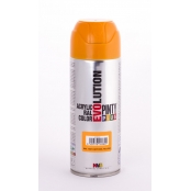 Peinture spray Acrylic Brillant 400ml Jaune Narcisse RAL 1007