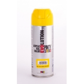 Peinture spray Acrylic Brillant 400ml Jaune Colza RAL 1021