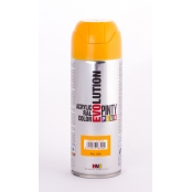 Peinture spray Acrylic Brillant 400ml Jaune Melon RAL 1028