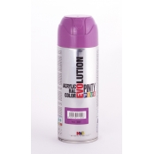 Peinture spray Acrylic Brillant 400ml Lilas Rouge RAL 4001