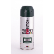 Peinture spray Acrylic Brillant 400ml Vert Mousse RAL 6005