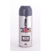 Peinture spray Acrylic Brillant 400ml Gris Fer RAL 7011
