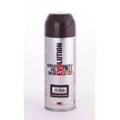 Peinture spray Acrylic Brillant 400ml Brun Gris RAL 8019