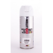 Peinture spray Acrylic Satiné 400ml Blanc Pur RAL 9010